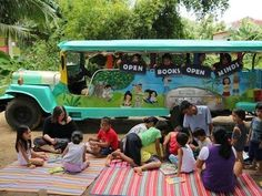 Get on board with these 9 mobile libraries #nationallibraryweek