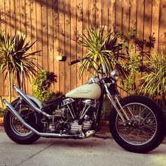 1955 Panhead | Bobber Inspiration - Bobbers and Custom Motorcycles October 2014