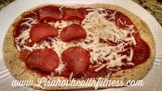 21 day fix recipe Flat-out Pizza