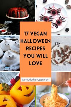 We love Halloween in our house, and really enjoy cooking up some seasonal treats. We often make something to take to a party and it's nice for there to be vegan options. These recipes show that there is no need to miss out if you are vegan, here are some great vegan halloween recipes you will love. Healthy Halloween, Halloween Treats, Vegan Halloween Recipe, Halloween Party, Pumpkin Mac And Cheese, Baked Pumpkin, Fall Dinner Recipes, Fall Recipes, Party Recipes