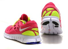 f1c522196ad0 Nike Free Runner 2 Womens Bright Cerise White Anthracite Volt Shoes Nike  Free Runs