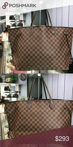 Auth LOUIS VUITTON Neverfull MM Monogram Tote Bag Description  Brand NameLOUIS VUITTON Item NameNeverfull MM Product No.M40156 Date CodeVI0150 Made inFrance ColorMonogram MaterialMonogram canvas Size(inch)Approx.W:12.20inch(Bottom)-18.11inch(Top)?H:11.02inch?D:5.51inch Size(cm)Approx.W:31cm(Bottom)-46cm(Top)?H:28cm?D:14cm Shoulder strap drop(inch)Approx. 7.48inch / Inner perimeter: Approx. 19.69inch Shoulder strap drop(cm)Approx. 19cm / Inner perimeter: Approx. 50cm Outside…