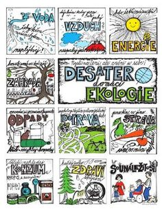 Pracovní listy | Středisko ekologické výchovy a etiky Rýchory – SEVER Earth Day Activities, Elementary Science, Learning Games, School Projects, Geography, Homeschool, Teaching, How To Plan, Education