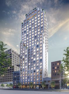 Work is nearing completion on Greenwich West, a 30-story residential project from Loci AnimaandAdamson Associates at 110 Charlton Street in Hudson Square. Luxury Condo, Modern Aesthetics, Rooftop Terrace, Condos For Sale, Pent House, Condominium, Modern Architecture, Real Estate, Exterior