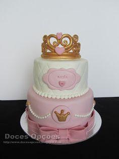 Doces Opções: Bolo de aniversário da princesa