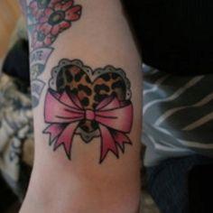 Cute Small Heart Tattoos On Foot