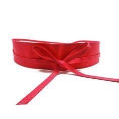 New Fashion Women belt Soft Leather Wide Self Tie Wrap Around Waist Band Dress Belt Y1