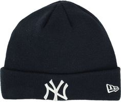 ec8cf2d927d New Era New York Yankees Basic Cuffed Knit Hat Knit Hat For Men