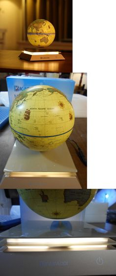 Globes 36023 6 magnetic levitation decoration maglev levitating globes 36023 6 magnetic levitation decoration maglev levitating floating globe world map blue buy it now only 5598 on ebay gumiabroncs Image collections