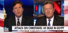 Piers Morgan Asks Why U.S. Media Won't Cover Christian Genocide By Radical Muslims