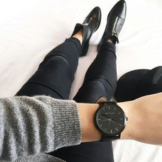 Winter style | The Fifth Watches // Minimal meets classic design: www.thefifthwatches.com
