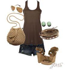 Summertime Browns w/Jade accent, created by cinnamonbabka41