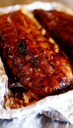 Spicy Dr.Pepper Ribs