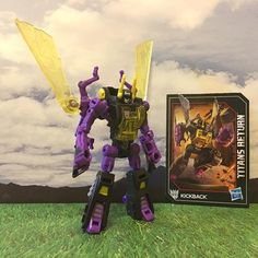 Titans Return Kickback Legends Insecticon In Hand Photos