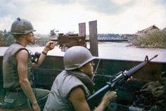 US Navy Vietnam ASPB-92-4 Riv Ron 9 Mobile Riverine Force, 1966