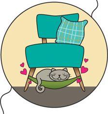 Hangmat voor je kat - Inspiraties - ShowHome.nl