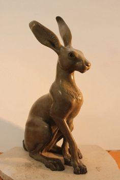 Onlinegalleries.com - Christmas Gift Suggestions: Bronze Hare - 'Celeste'