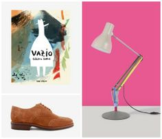 Weekly Inspiration 32 - The new Vazio and Capital books by Pato Lógico, the beautiful shoes by Officina Lisboa and the Anglepoise x Paul Smith collaboration. #patologico #officinalisboa #paulsmith