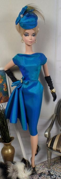 Pavão for Silkstone Barbie and Victoire Roux by MatisseFashions, $105.00