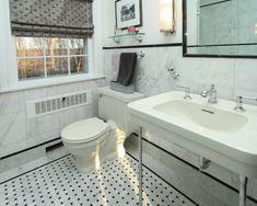 Traditional Bathroom Tile Designs 17x17 italian tile on the floor/ walk in shower custom glass