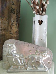 -Antique Chocolate Mold Victorian