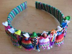 vinchas con cholitas de jujuy artesania tipica