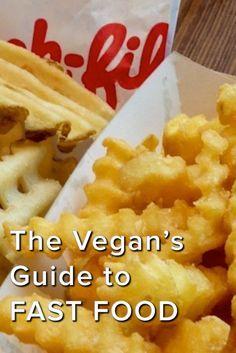 Vegan Tips... Making Vegan Easy - The Vegan's Guide to Fast Food