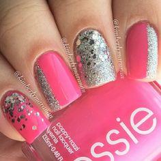 Nails Art - Pink