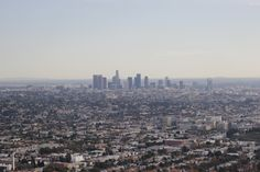 Los Angeles day view from Grifith Observatory