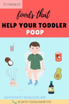 Best Foods That Help Your Toddler Poop | what foods help with toddler constipation | how to help your child poop | Oh Crap Potty Training