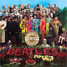 Pepper - the beatles - john lennon - paul mccartney - ringo starr- george harrison - album -cover Best Album Art, Greatest Album Covers, Classic Album Covers, Cool Album Covers, Cover Pics, The Beatles, Beatles Album Covers, Beatles Songs, Psychedelic Rock