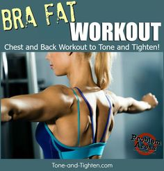 How To Get Rid Of Bra Fat Bulge