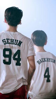 Sebaek♥️ #sehun  #baekhyun Exo Anime, Baekhyun Wallpaper, Exo Couple, Exo Members, Chanyeol, Fangirl, Kpop, Life, Wallpapers