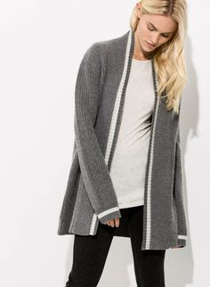 Women's Cashmere Varsity Cardigan | Quincy Cardigan | Kit and Ace