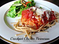 With Blonde Ambition: Crockpot Chicken Parmesan