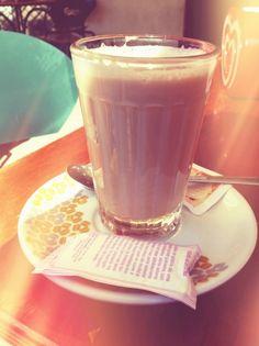 """The Portuguese latte """"o Galao"""""""