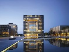 The certified ThyssenKrupp Headquarters in Essen combines sophisticated architectural solutions to sustainability