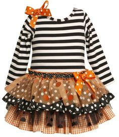 Amazon.com: Bonnie Jean Girls 2-6X Knit Top To Drop Waist Tiered Skirt: Clothing