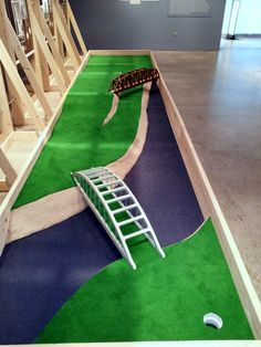 indoor miniature golf course design - Google Search