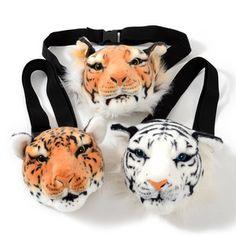 Plushies / Plushie Accessories / Animal Face Pouches Tokyo Otaku Mode, Mode Shop, Animal Faces, Plushies, Cheetah, Creatures, Japan, Stay Safe, Bags