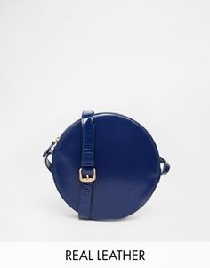 Vagabond Leather Circle Crossbody Bag