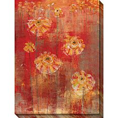 @Overstock - This oversized red art canvas will make an attention-grabbing focal point. The limited edition, gallery-wrapped giclee print features a bright red background with touches of gold tones. The 36 x 48 large canvas arrives ready to be hung.http://www.overstock.com/Home-Garden/Maeve-Harris-Adoration-I-Oversized-Canvas-Art/3908379/product.html?CID=214117 $109.99