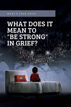 What does it mean to be strong in grief?  I think a good majority of people would believe that strength in the face of overwhelming emotion means being resistant. But strength in the context of grief is actually far different than most accepted definitions. It's brave as hell, but it feels like the opposite.  #grief #griefandloss #griefsupport #strongingrief #resillience #emotionalstrength #emotionalintelligence #griefcoping #coping via @whatsyourgrief Sympathy Messages, Emotional Strength, Grief Support, Getting Out Of Bed, Trd, It's Meant To Be, Thoughts And Feelings, Emotional Intelligence, Vulnerability