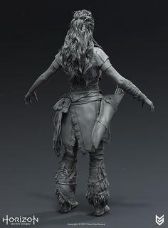 ArtStation - Horizon Zero Dawn - Aloy Outcast Costume, Arno Schmitz