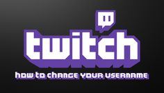 Learn how to change your Twitch username. A much-requested feature of Twitch that until now hasn't been an option. Username, You Changed, Ios, Logo Design, Gaming, Android, Windows, Learning, Videogames