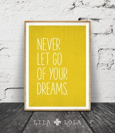 Hey, I found this really awesome Etsy listing at https://www.etsy.com/listing/251315030/inspirational-quote-wall-art-dreams