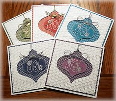 FS409 Ornament Mania by Doodledop - Cards and Paper Crafts at Splitcoaststampers