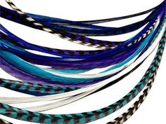Feather Hair Extensions 100 Real Rooster Feathers 20 Long Thin Loose Individual Feathers By Feather Lily *** Find out more about the great product at the image link.