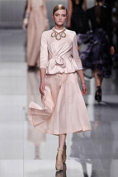 Christian Dior Autum/Winter 2012-2013 at Paris Fashion Week