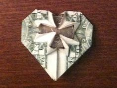 Creative Simplicity: Imagination and The Tooth Fairy (Folding Money) Kids Origami, Money Origami, Origami Heart, Crafts For Kids, Arts And Crafts, Paper Crafts, Diy Crafts, Tooth Fairy Money, Folding Money